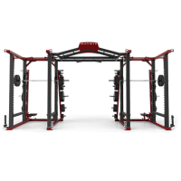 Силовая рама DOUBLE MEGA RACK с аксессуарами MATRIX MAGNUM MR47x2_ALL ACCS Matte Black