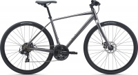 Велосипед Giant Escape 3 Disc (Рама: M, Цвет: Metallic Black)