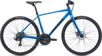 Велосипед Giant Escape 3 Disc (Рама: M, Цвет: Metallic Blue)
